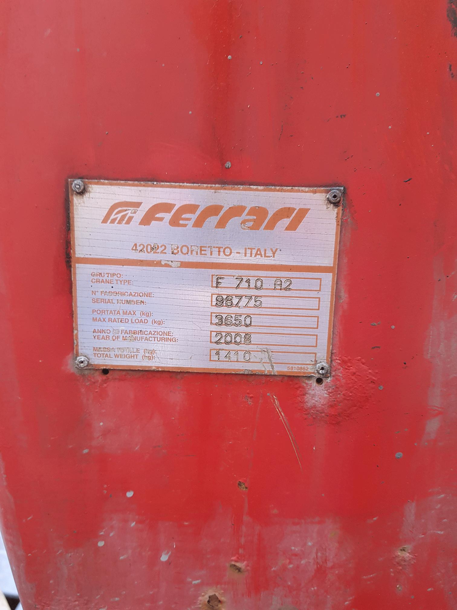 Продажа гидроманипулятора FERARI 710.2 БУ