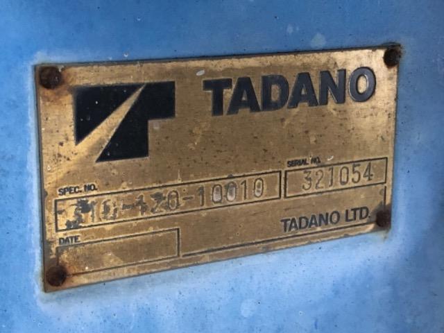 Продажа манипулятора TADANO TMZ 303 БУ