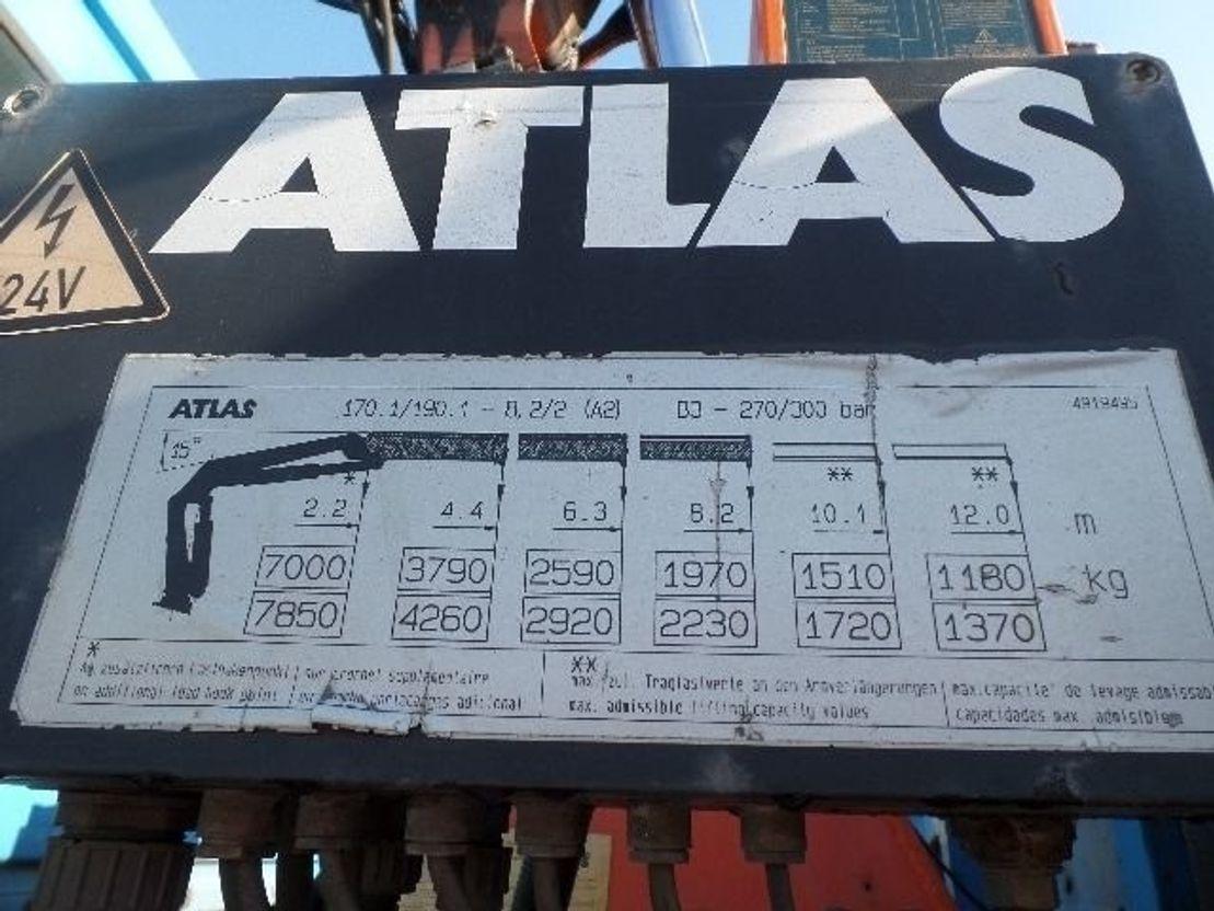 Продажа гидроманипулятора ATLAS AK 190.2 БУ