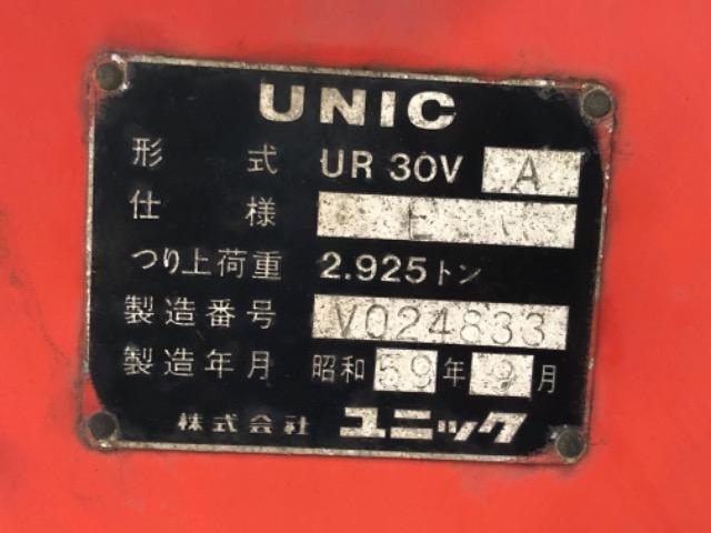 Продажа манипулятора UNIC UR 30/3 БУ