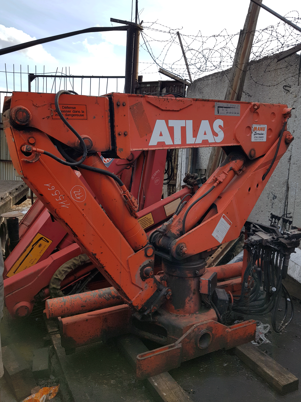 Продажа гидроманипулятора ATLAS AK 4006B.3 БУ