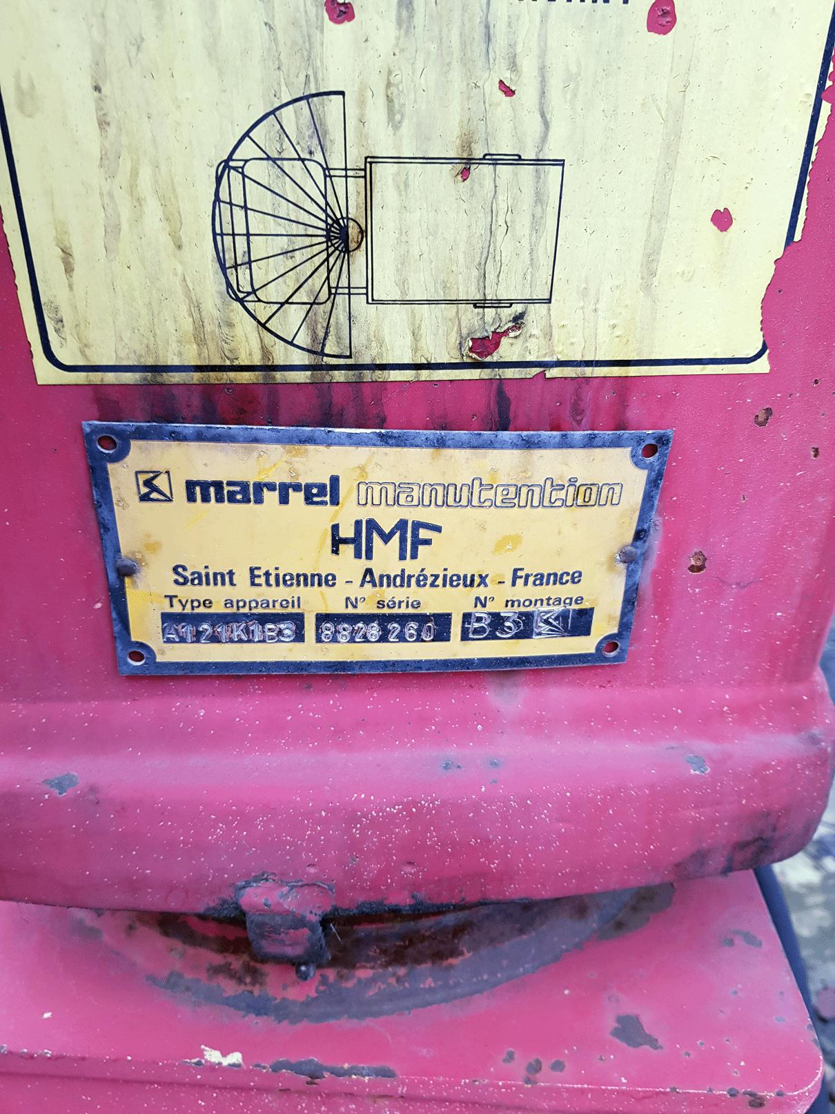 Продажа гидроманипулятора HMF А121(01) БУ