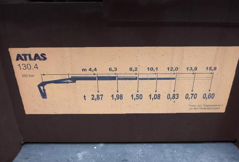 Продажа гидроманипулятора ATLAS AK 130.4 БУ