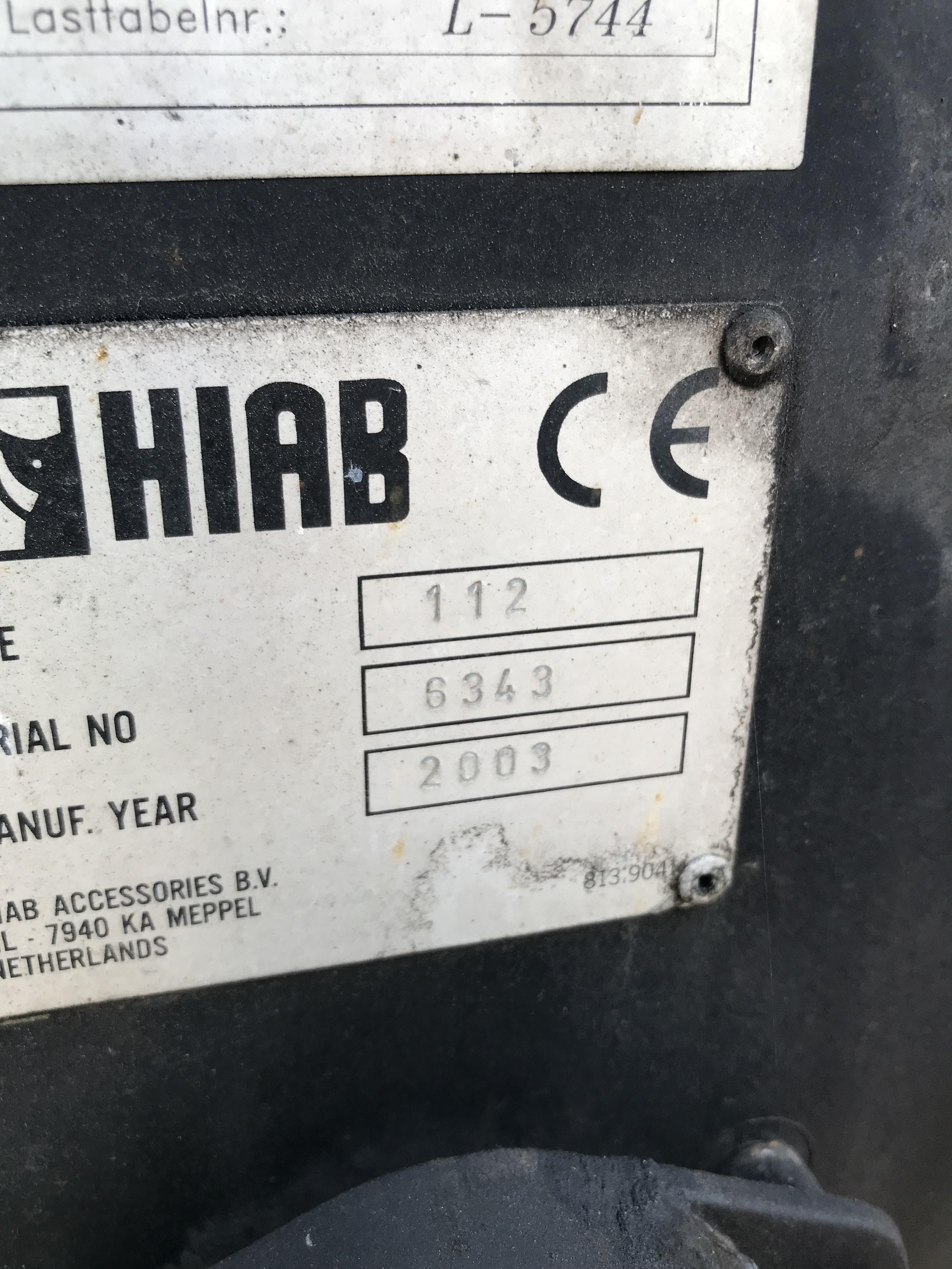 Продажа гидроманипулятора HIAB XS 112.2 БУ